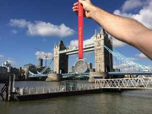 Marathon Medal & Tower Bridge